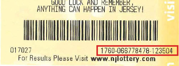 NJ Lottery | Ticket Checker