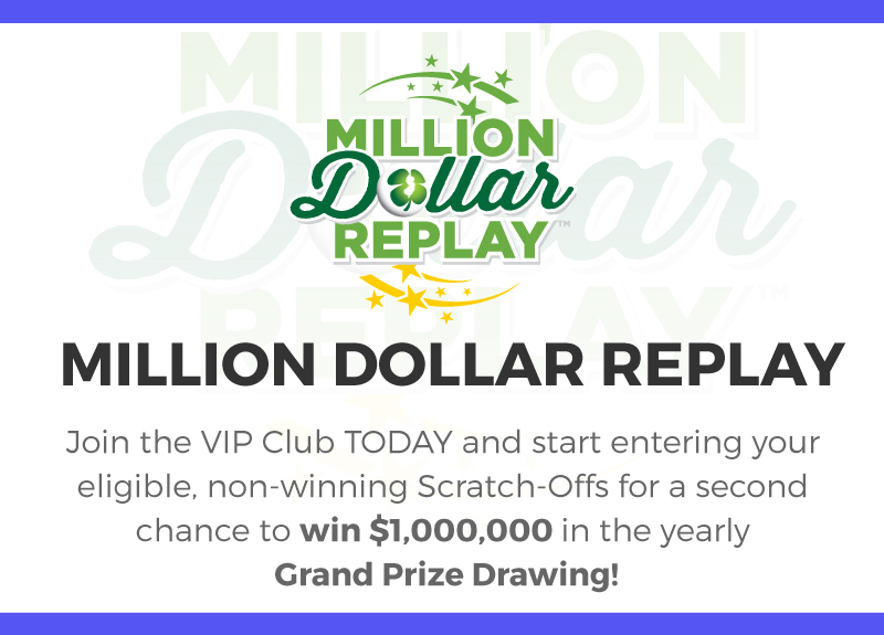 NJ Lottery | Million Dollar Replay